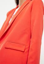 Missguided - Crepe blazer - orange