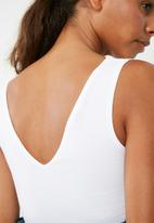 Superbalist - V-neck vest 2 pack - black & white