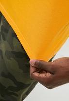 Superbalist - Crew neck 2-pack tee - mustard & grey