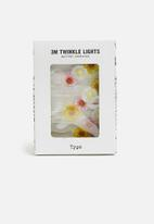 Typo - 3m novelty twinkle lights - daisy