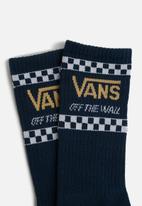 Vans - Crossed sticks crew socks - blue