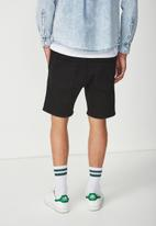 Cotton On - Customised denim short - black