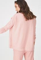 Cotton On - Super soft lounge top - pink