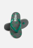 Cotton On - Printed flip flops - green