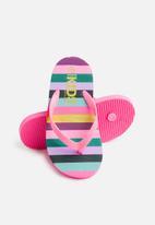 Cotton On - Printed flip flops - multi