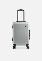 Escape Society - Carry-on suitcase - silver
