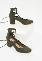 Madison® - Elizabeth block heel - green