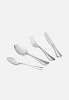 Humble & Mash - Mara 24 piece cutlery set - silver