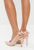 Madison® - Maybelle stiletto with bow - blush