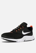 Nike - Presto Fly JDI -  Black / White / Total Orange