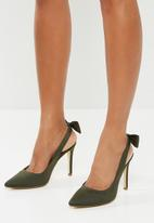 Madison® - Maybelle stiletto with bow - green