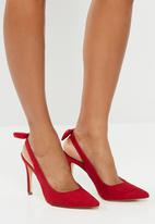 Madison® - Maybelle stiletto with bow - red