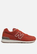 New Balance  - ML574ESH - burnt orange / white
