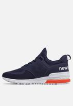 New Balance  - MS574PCN - navy / orange