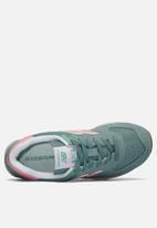 New Balance  - WL574FLB - blue & pink