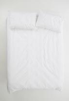 Sheraton - Ogee duvet cover set - white