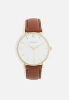 Superbalist - Lucy leather watch - brown