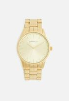 Superbalist - Sheldon chain strap watch - gold