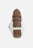 Superbalist - James leather watch - brown
