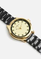 Superbalist - Julius chain watch - black