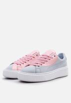 PUMA - Basket Platform Val - Grey Dawn