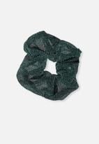 Supré  - Scrunchie - sparkly emerald