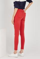 Supré  - Skinny ripped jean - red