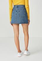 Supré  - The Blair Aline denim skirt - blue