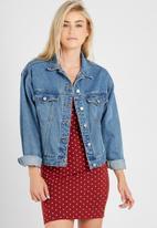 Supré  - 80s denim jacket - original blue