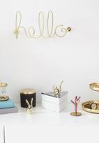 Umbra - Hello wall décor - gold