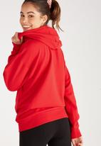 Supré  - Oversized hoodie - red