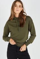 Supré  - Olivia hoodie - khaki
