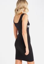Supré  - Strap tank dress - black