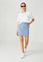 Supré  - The charmed mini skirt - sunset blue