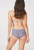 Cotton On - Party pants boyleg  brief - slate grey