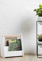 Umbra - Nesta tiered planter - black & white