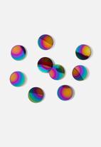 Umbra - Confetti dots - rainbow