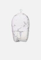 Typo - Foam travel pillow - marble