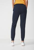 Cotton On - Adele trackpant - navy