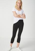 Cotton On - Dylan long leggings - black