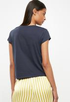 Cotton On - Tbar friends graphic tee - blue