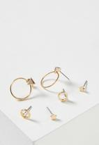 Cotton On - Bianca core stud pack - gold