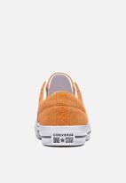 Converse - One Star Suede OX - bold mandarin & white