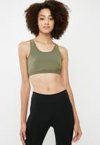 dailyfriday - Multi strap crop top - khaki