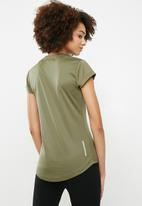 dailyfriday - Birds eye t-shirt - khaki