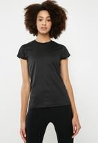 dailyfriday - Birds eye t-shirt - black