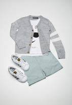 Superbalist - Two stripe cardi - grey