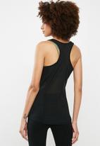 dailyfriday - Racer back vest with stitch detail - black