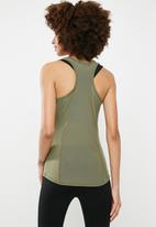 dailyfriday - Racer back vest with stitch detail - khaki