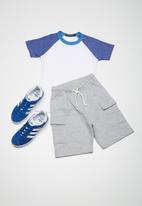 Superbalist - Kids boys 2 pack raglan tee - multi